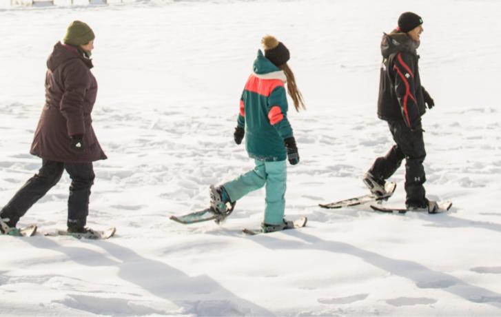 Prêt de skis de fond et raquettes
